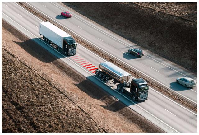 沃爾沃卡車推出距離警報 幫助司機與前車保持安全距離