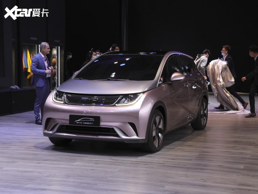 上海车展:比亚迪全新概念车EA1正式发布